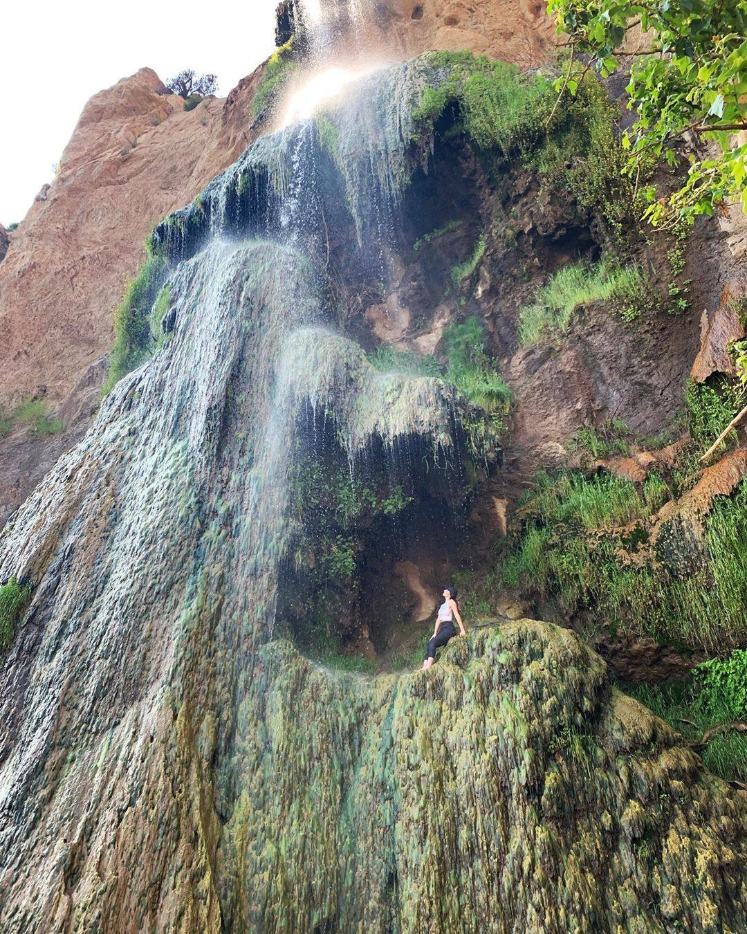 Escondido Falls in Malibu, Summer 2019