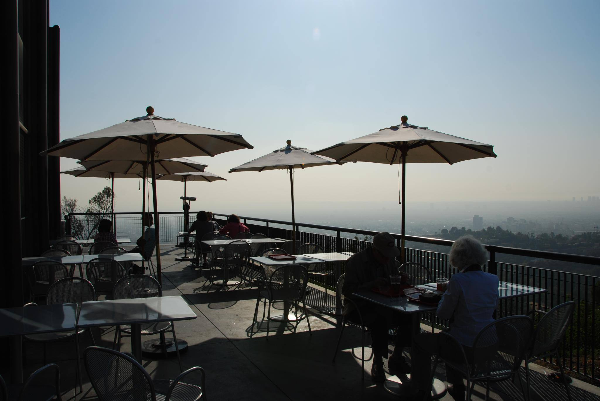 Cafe at the End of the Universe at Griffith Observatory