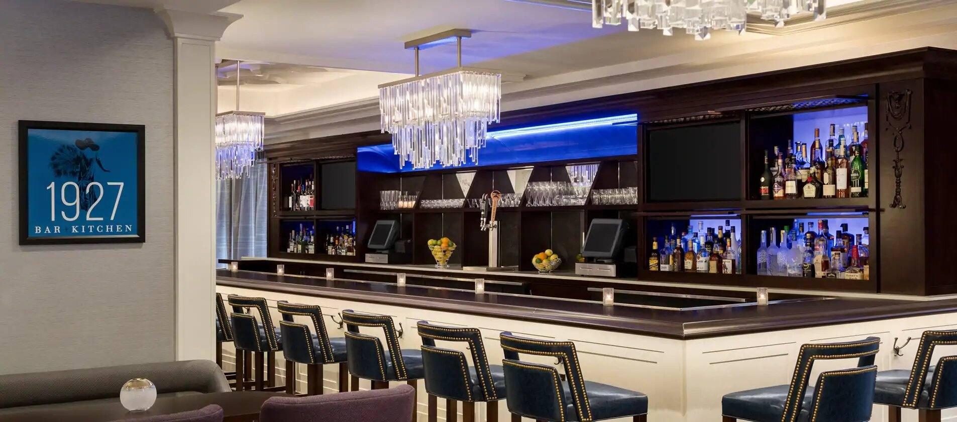 1927 Bar+Kitchen at Hilton Checkers Los Angeles