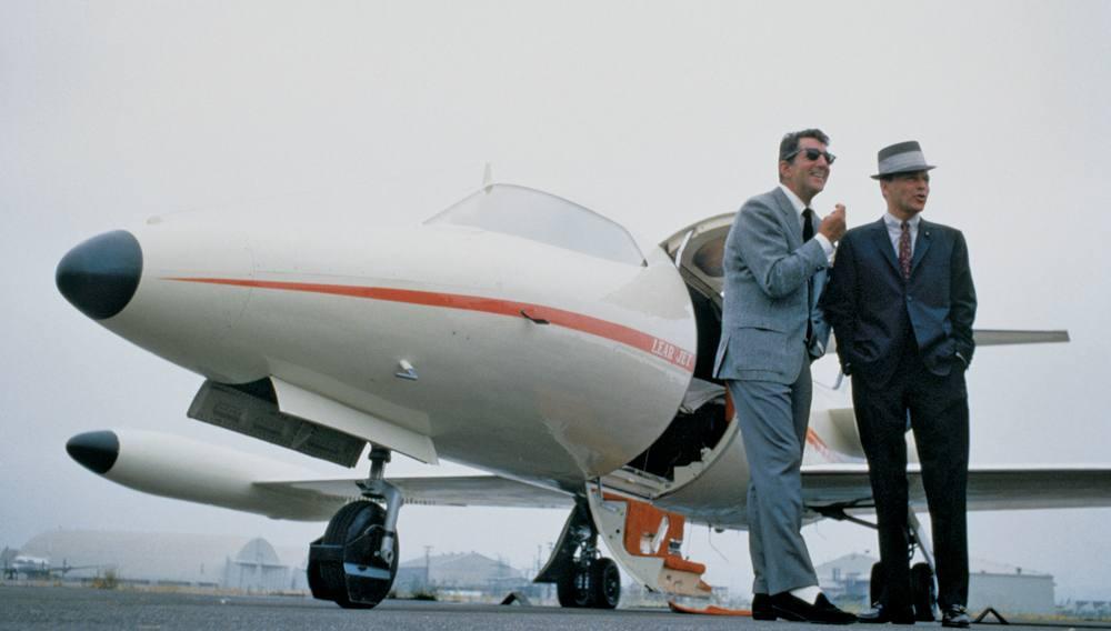 Learjet Frank Sinatra and Dean Martin