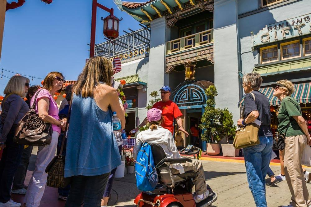 Los Angeles Conservancy Exploring Chinatown Group Tour