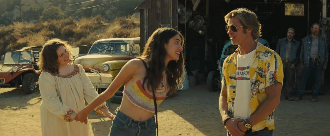 Spahn Ranch in Once Upon a Time in Hollywood