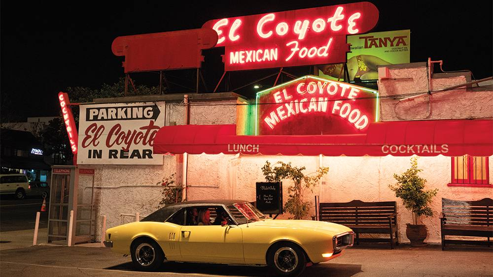 El Coyote Mexican Cafe in Once Upon a Time in Hollywood | Photo: Sony Pictures