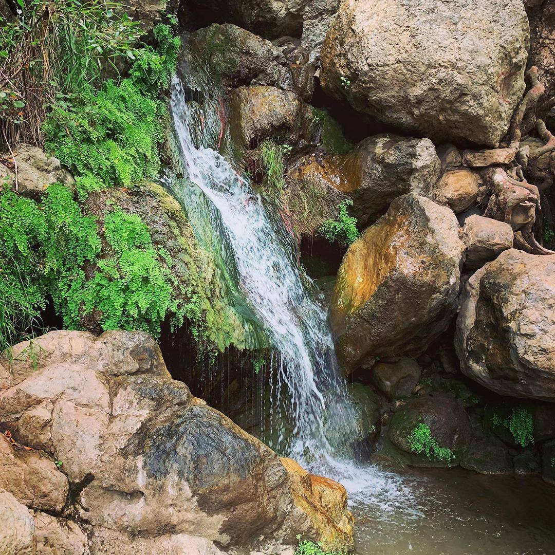 Waterfall at Solstice Canyon Trail, Summer 2019