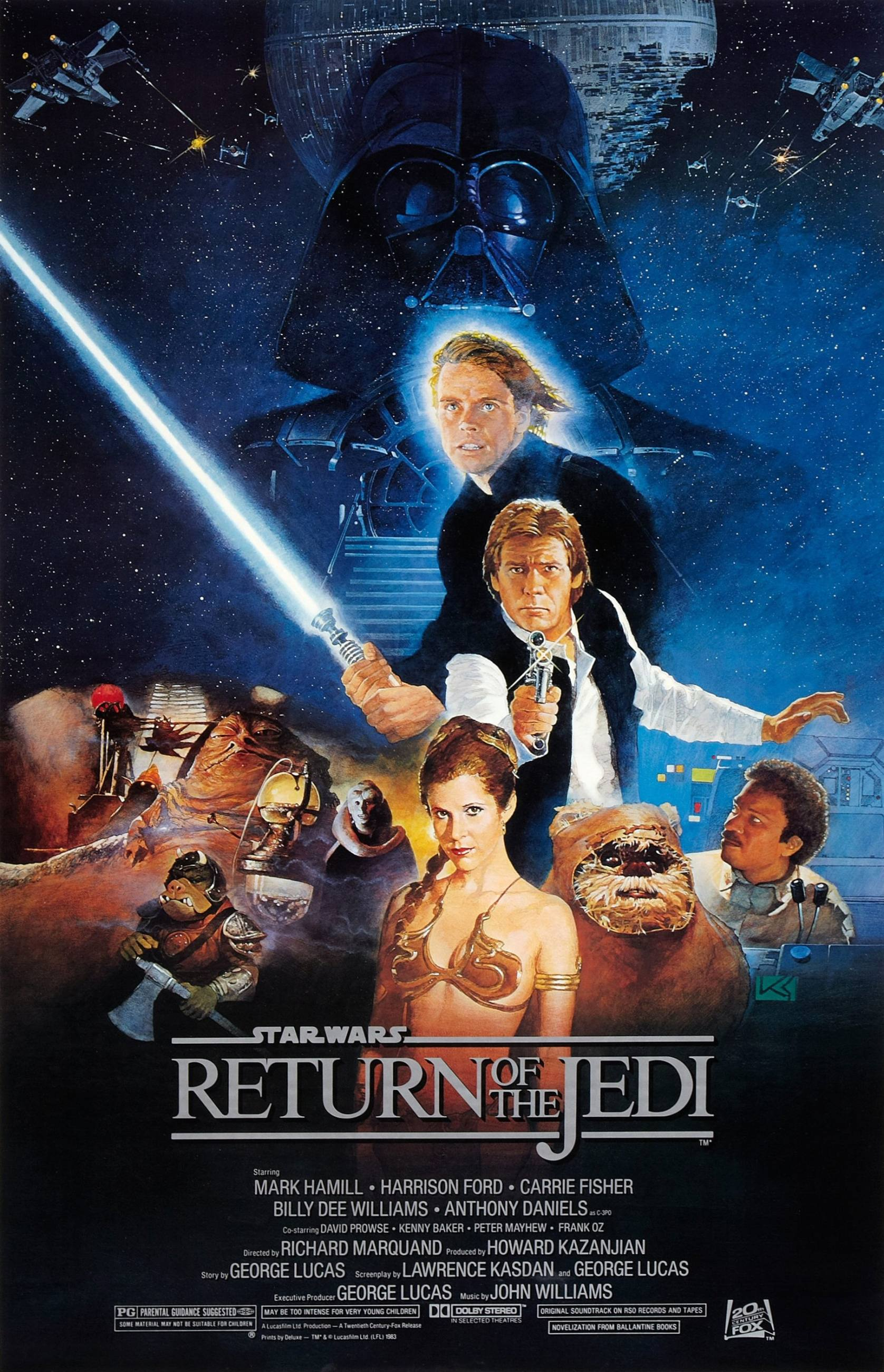 """Star Wars: Episode VI - Return of the Jedi"" movie poster"