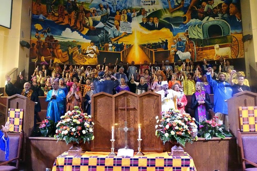 First AME Church choir