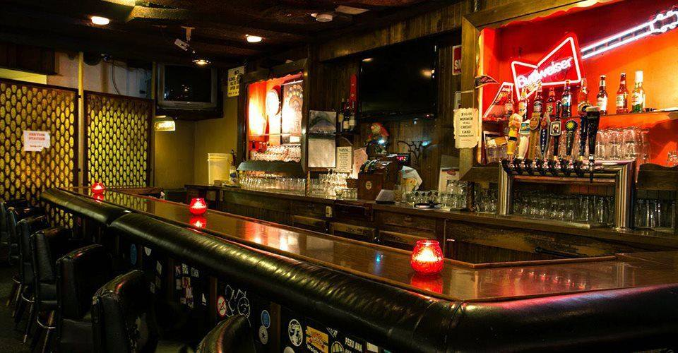 Bar inside the Kibitz Room