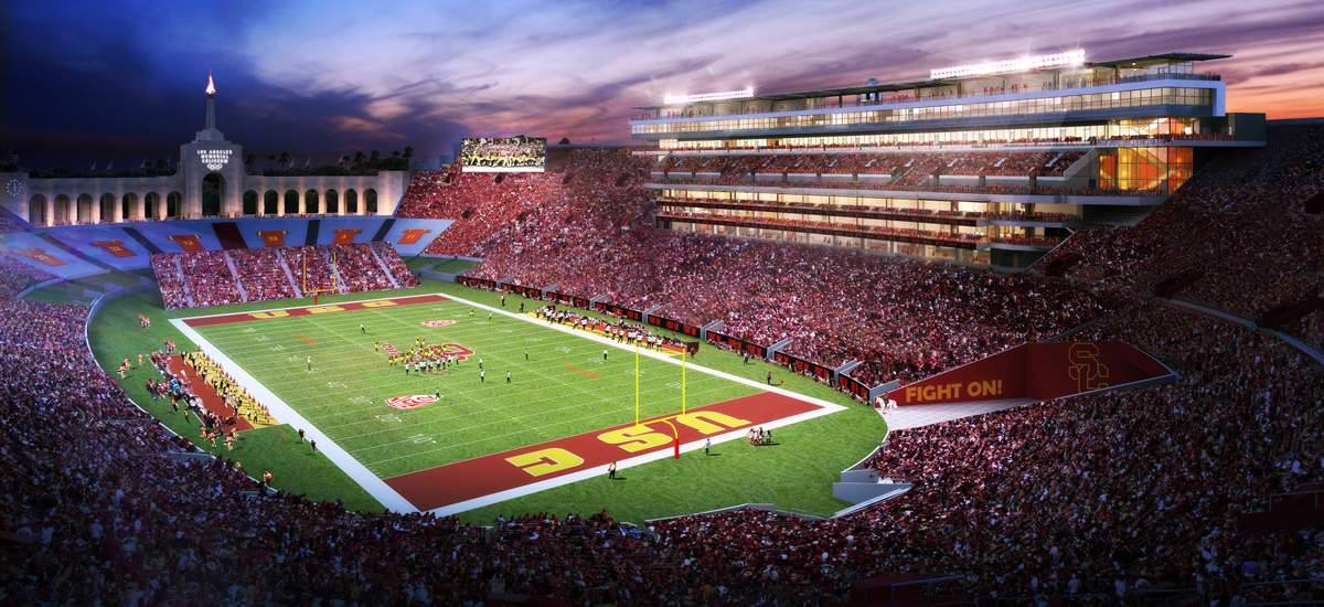 Los Angeles Memorial Coliseum renovation