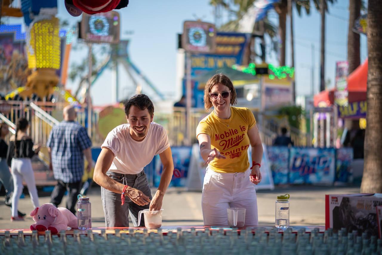 LA County Fair Fun Zone games