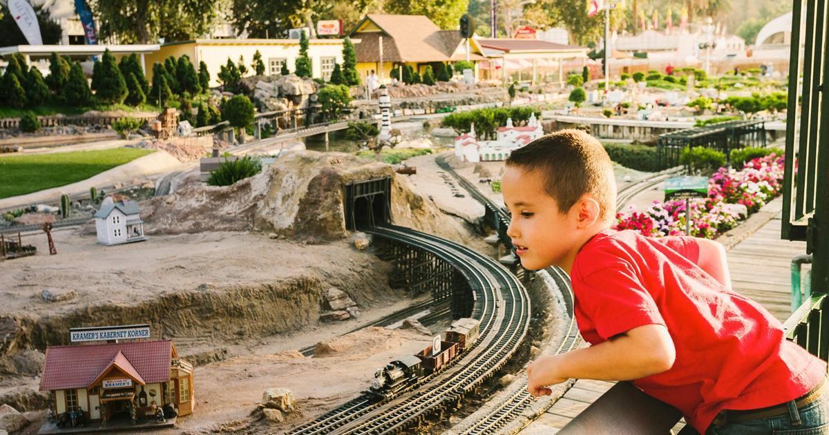 Garden Railroad at the LA County Fair