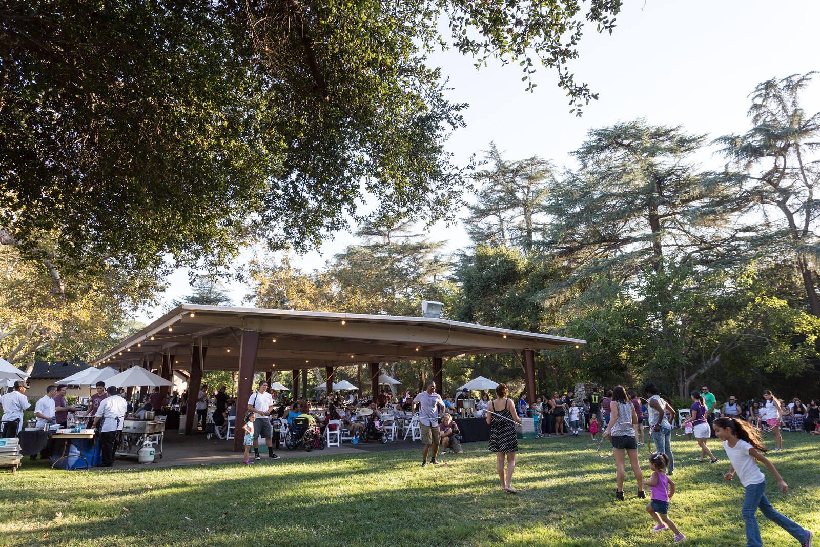 Picnic Hill at the LA County Fair