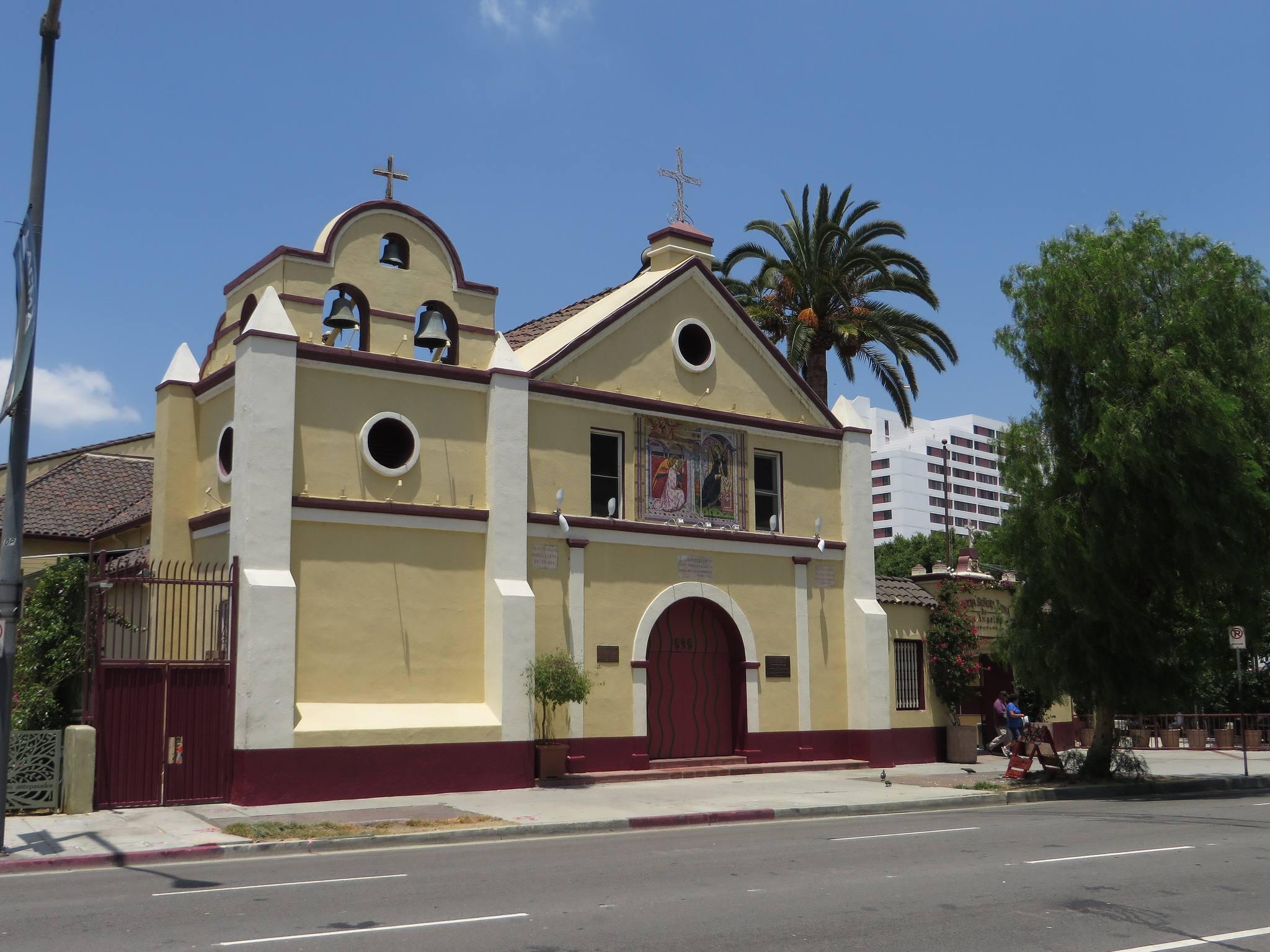 La Placita Church in Downtown LA