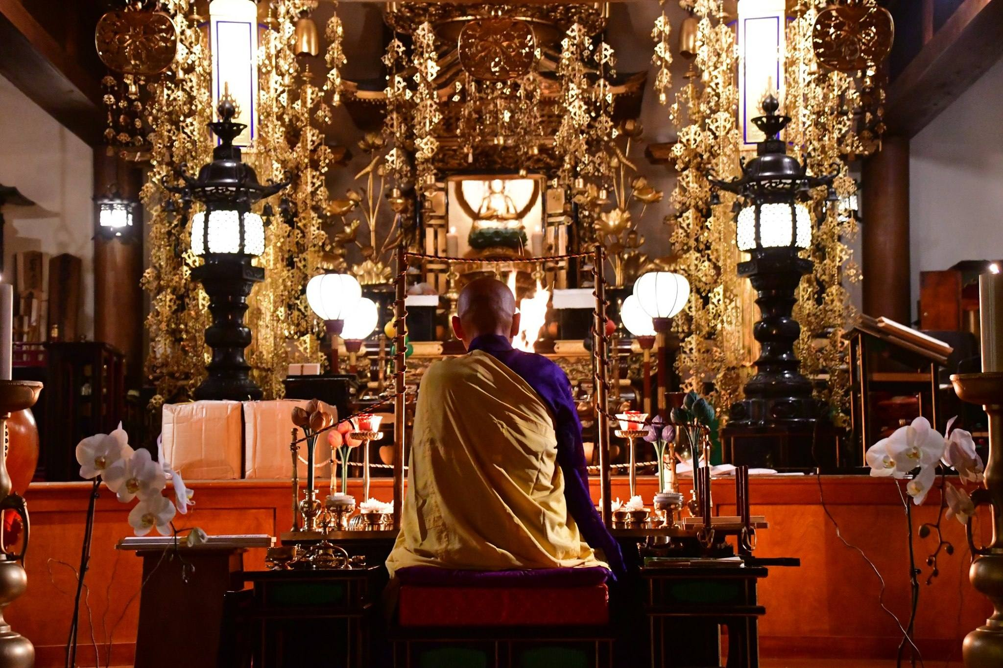 Monthly Goma Service at Los Angeles Koyasan Buddhist Temple