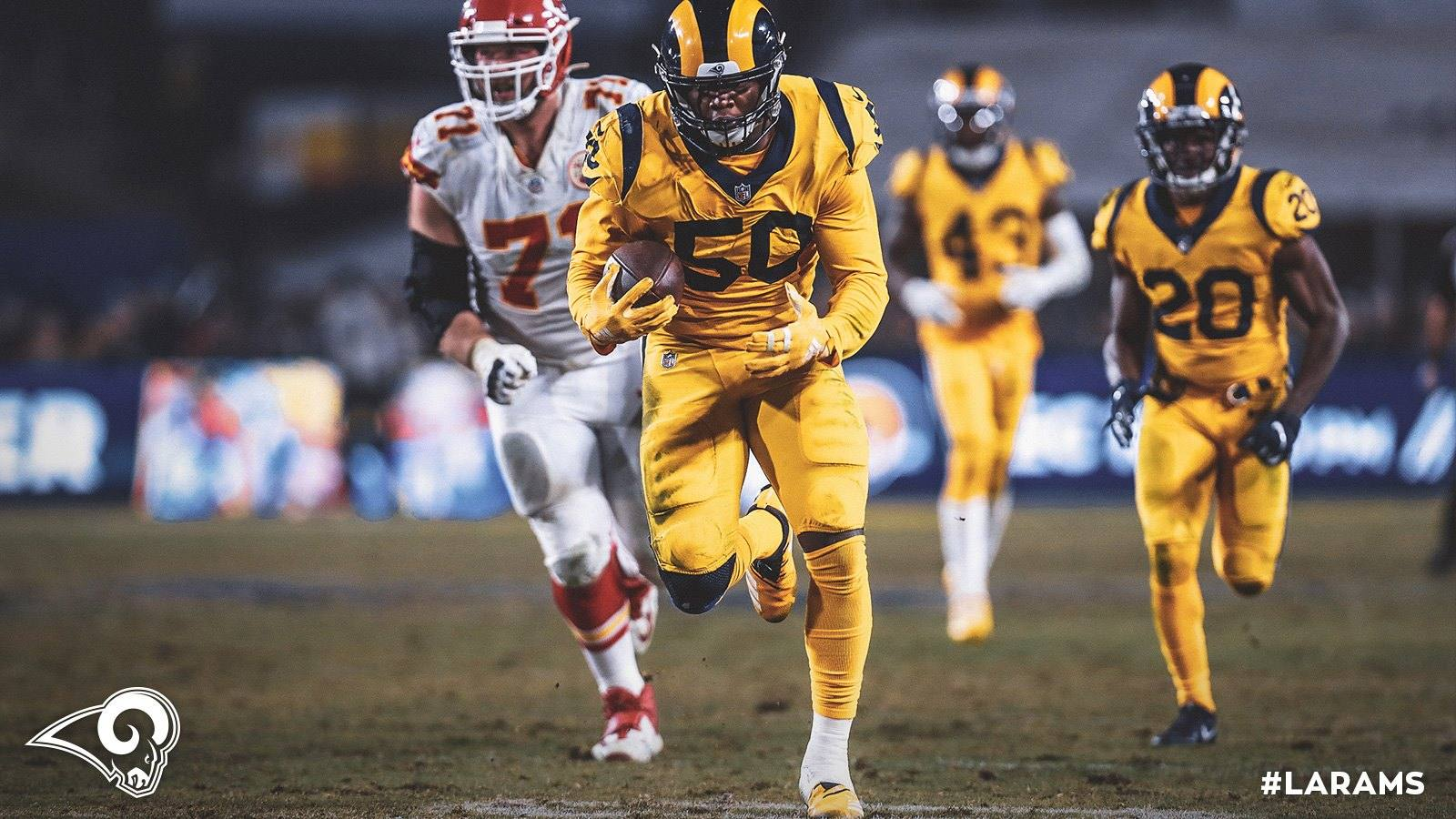 Los Angeles Rams Samson Ebukam vs Kansas City Chiefs