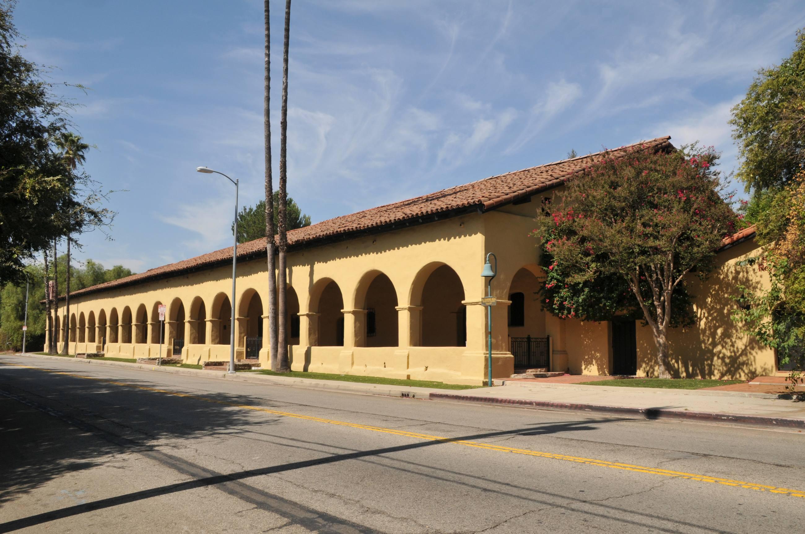 Convento Building at Mission San Fernando Rey de España