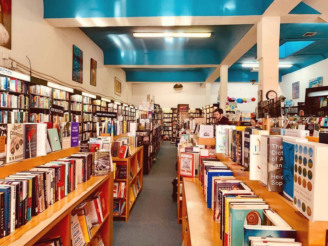 Small World Books in Venice