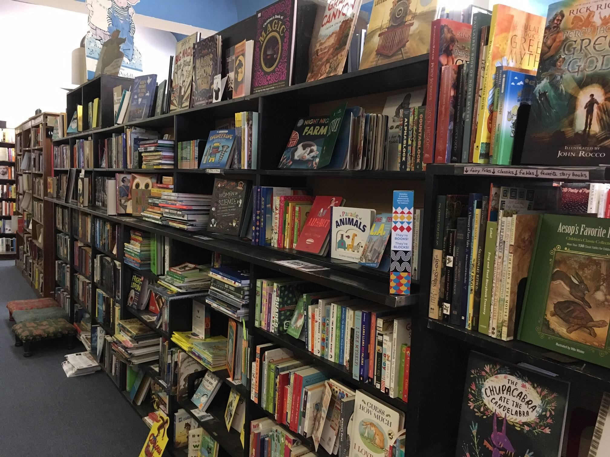 Small World Books children's section