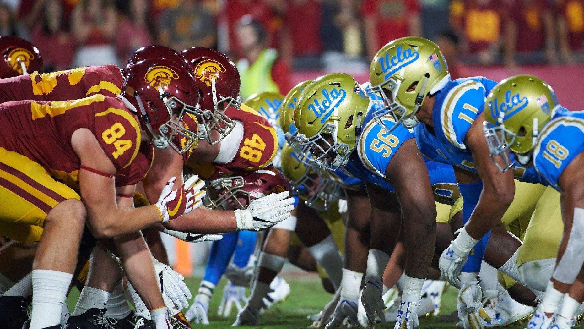 UCLA vs USC football game