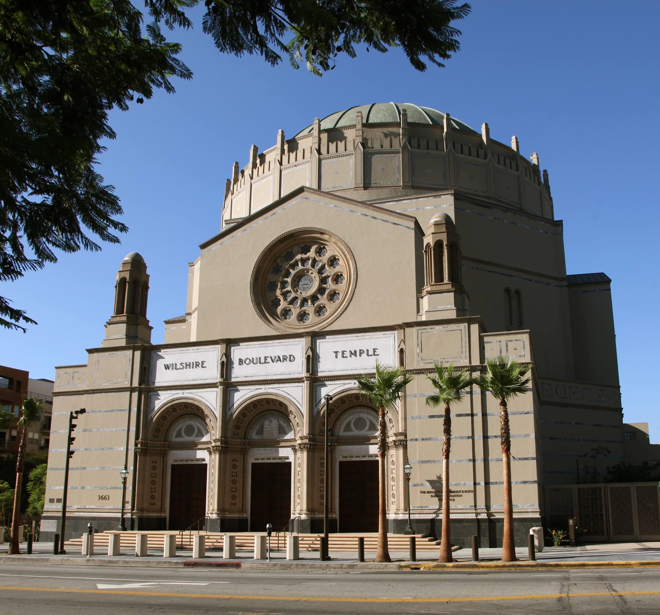 Wilshire Boulevard Temple exterior