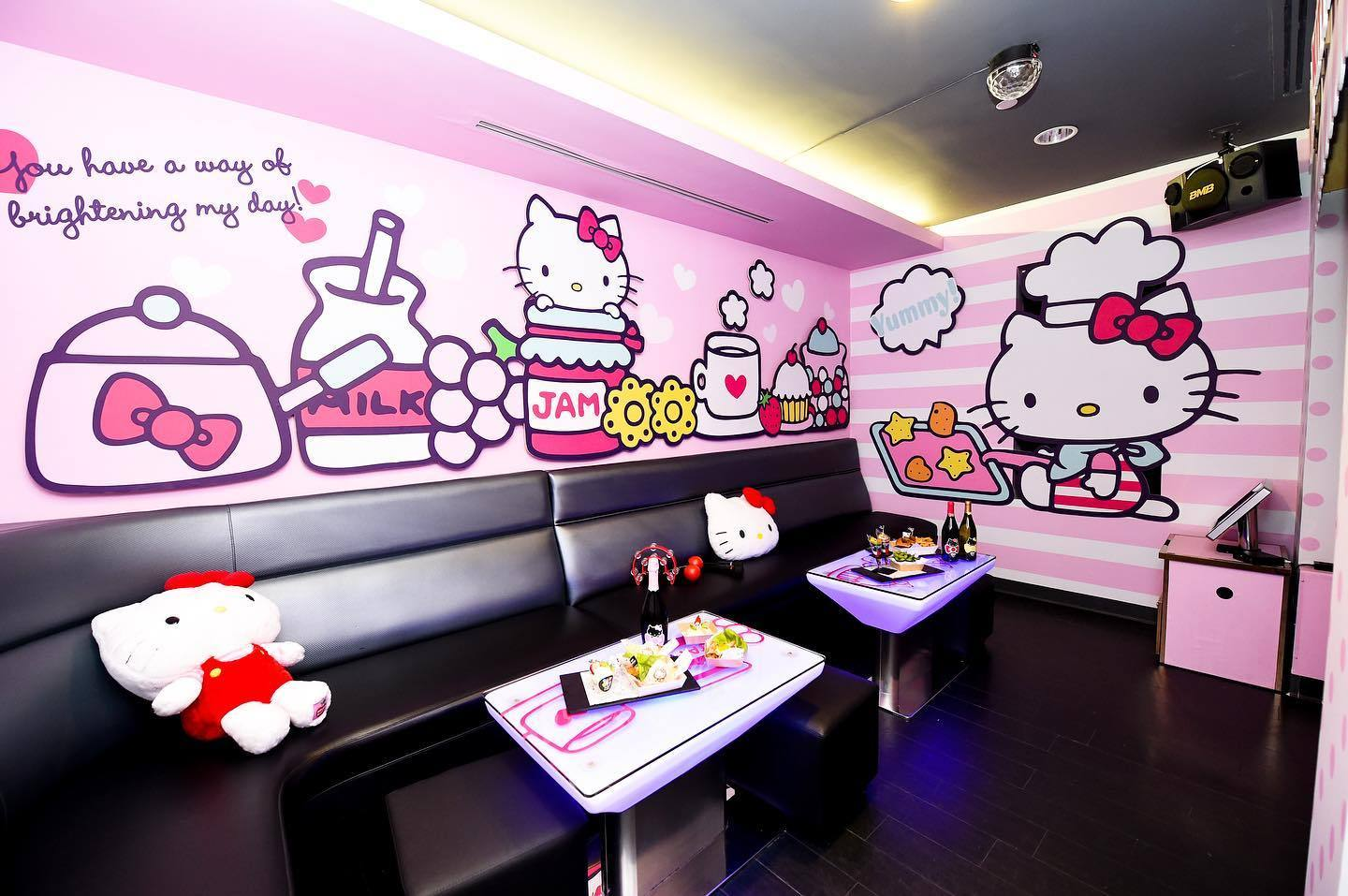 Hello Kitty Bakery Room at Energy Bistro & Karaoke in Alhambra
