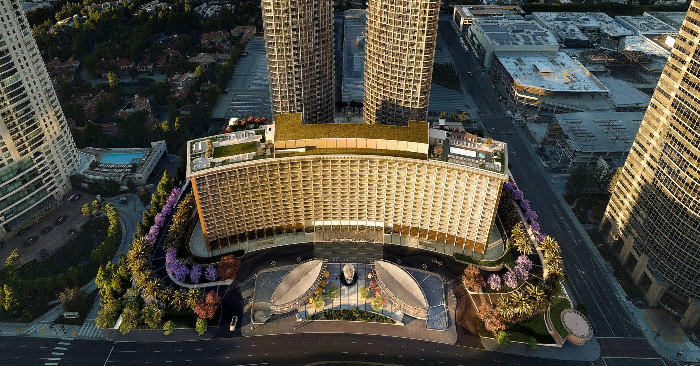 Rendering: Fairmont Century Plaza