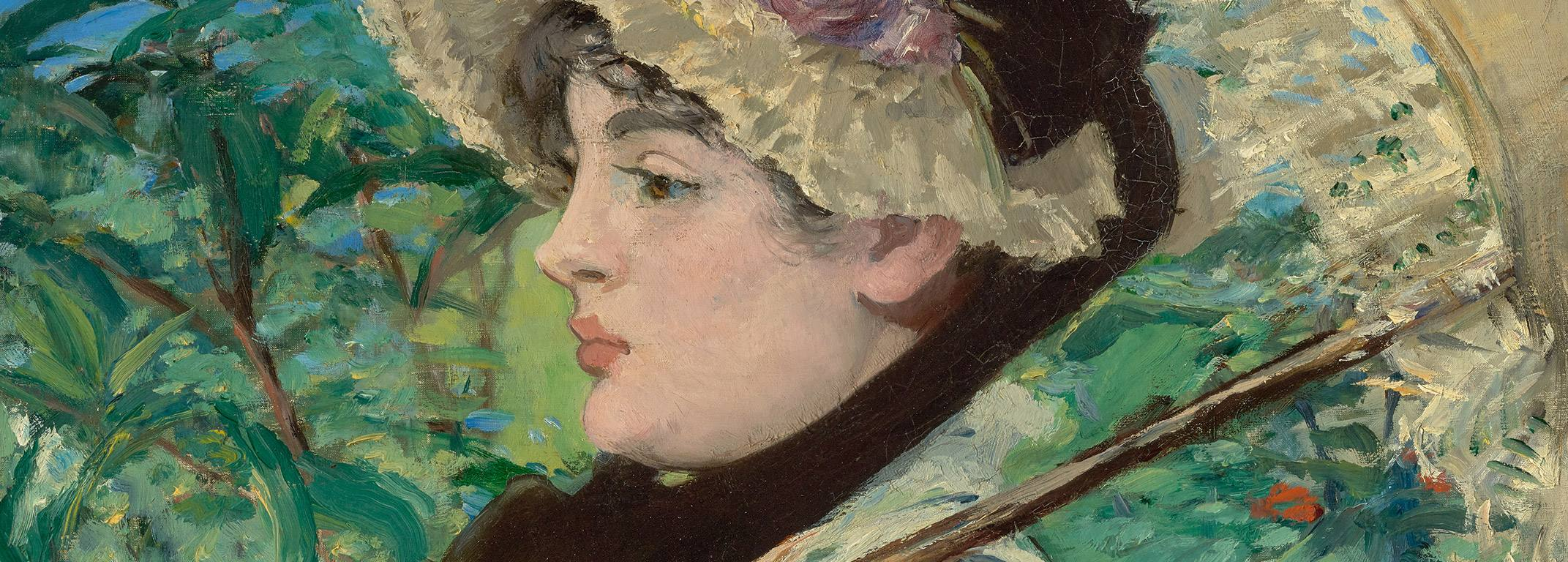 """Jeanne (Spring)"" by Édouard Manet at the Getty Center"