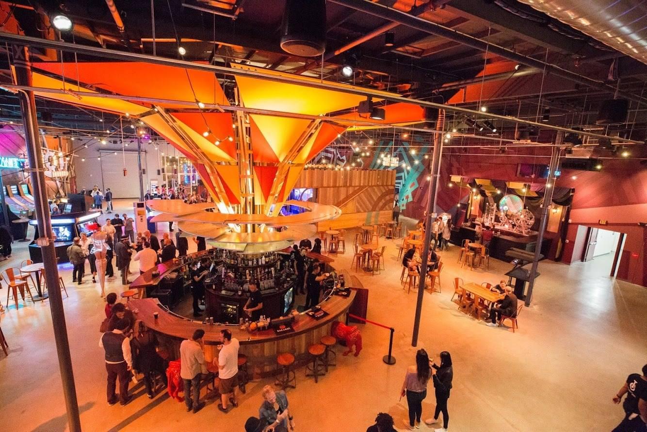 Big Top Bar at Two Bit Circus in Downtown LA