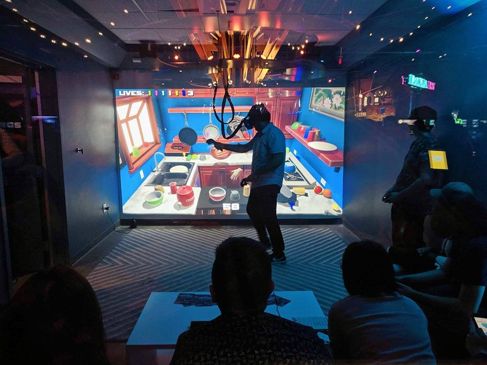 Cabana VR at Two Bit Circus in Downtown LA
