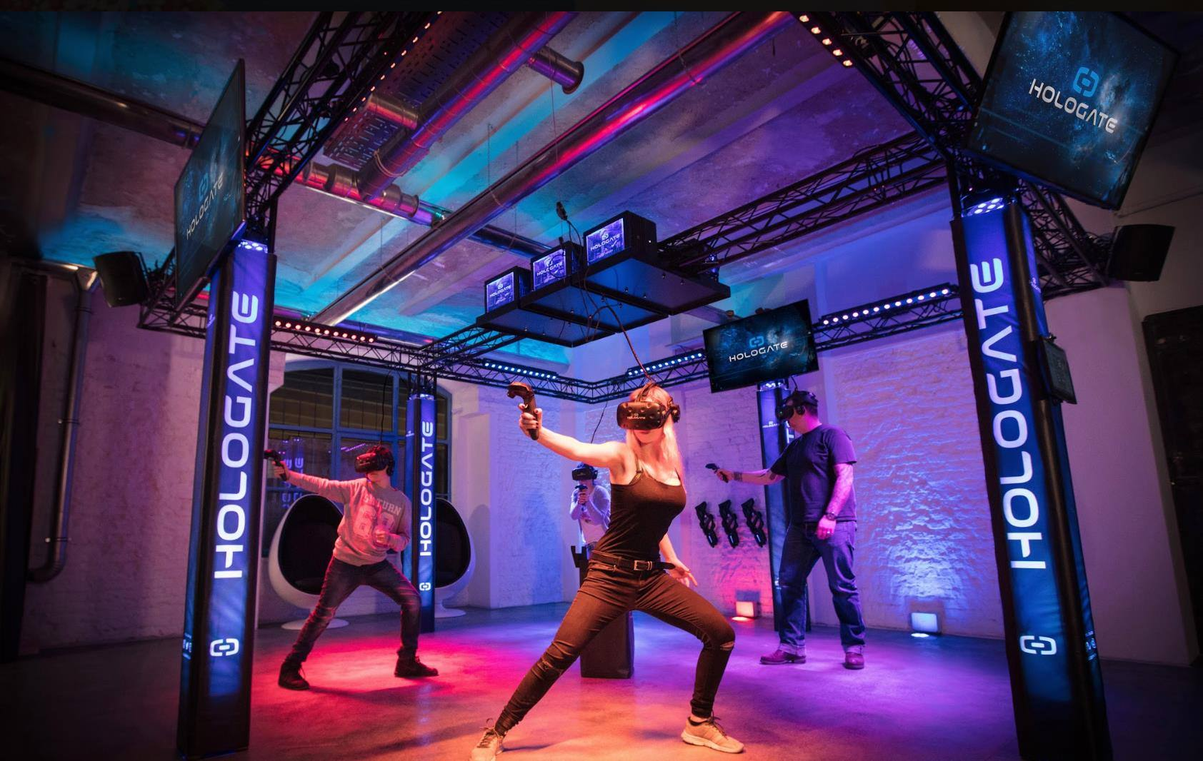 Hologate VR at Two Bit Circus in Downtown LA