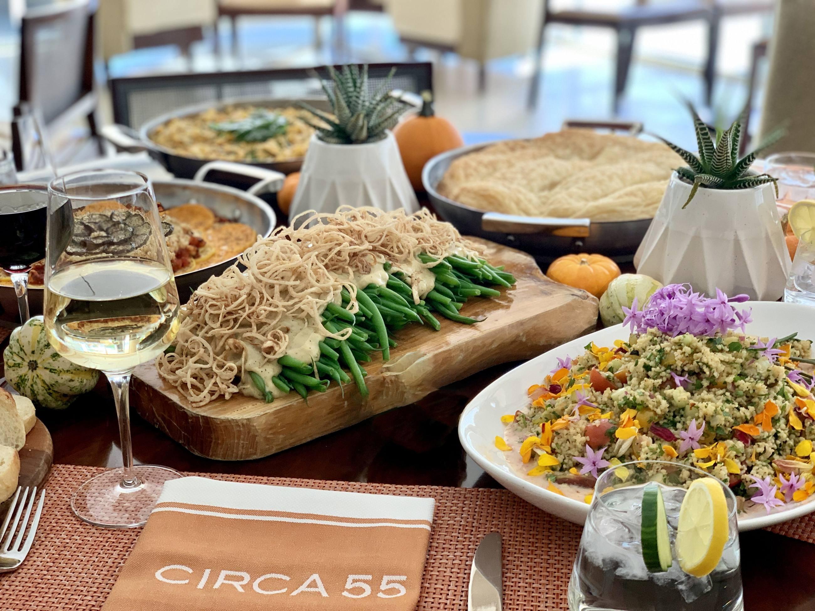 Vegan Save the Turkey Brunch at CIRCA 55