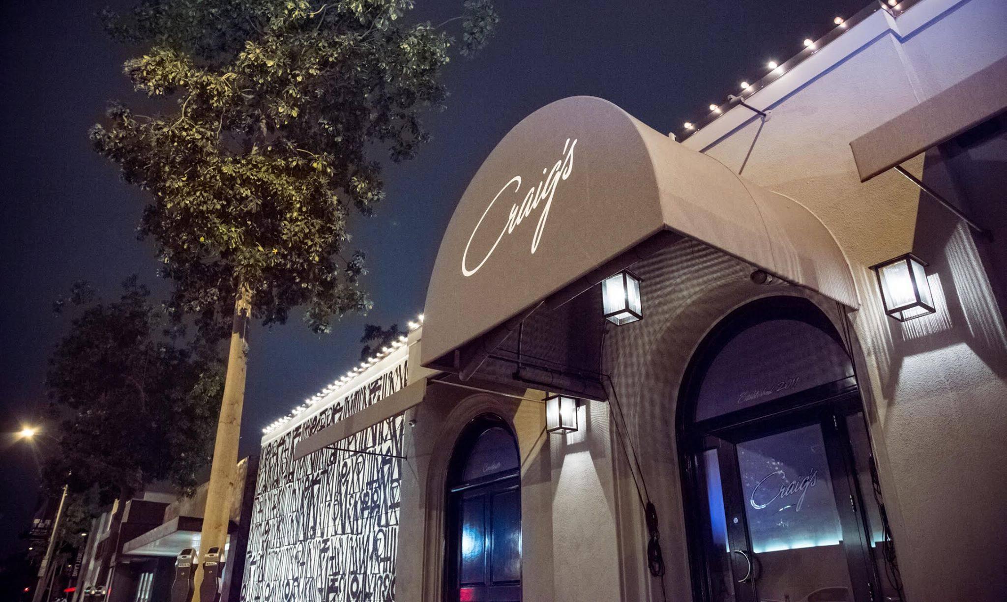 Craig's Restaurant in West Hollywood