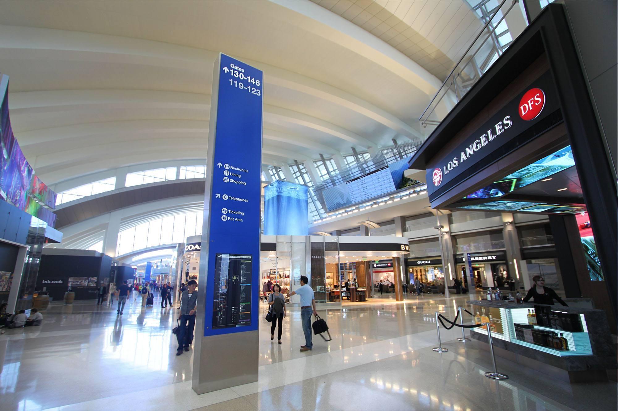 Duty Free en la Terminal Internacional Tom Bradley