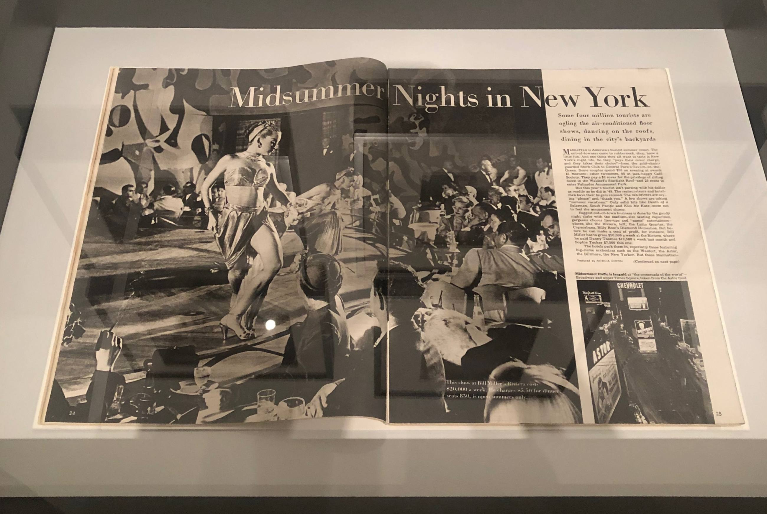 "Stanley Kubrick Look Magazine ""Midsummer Nights in New York"" at Skirball Cultural Center"