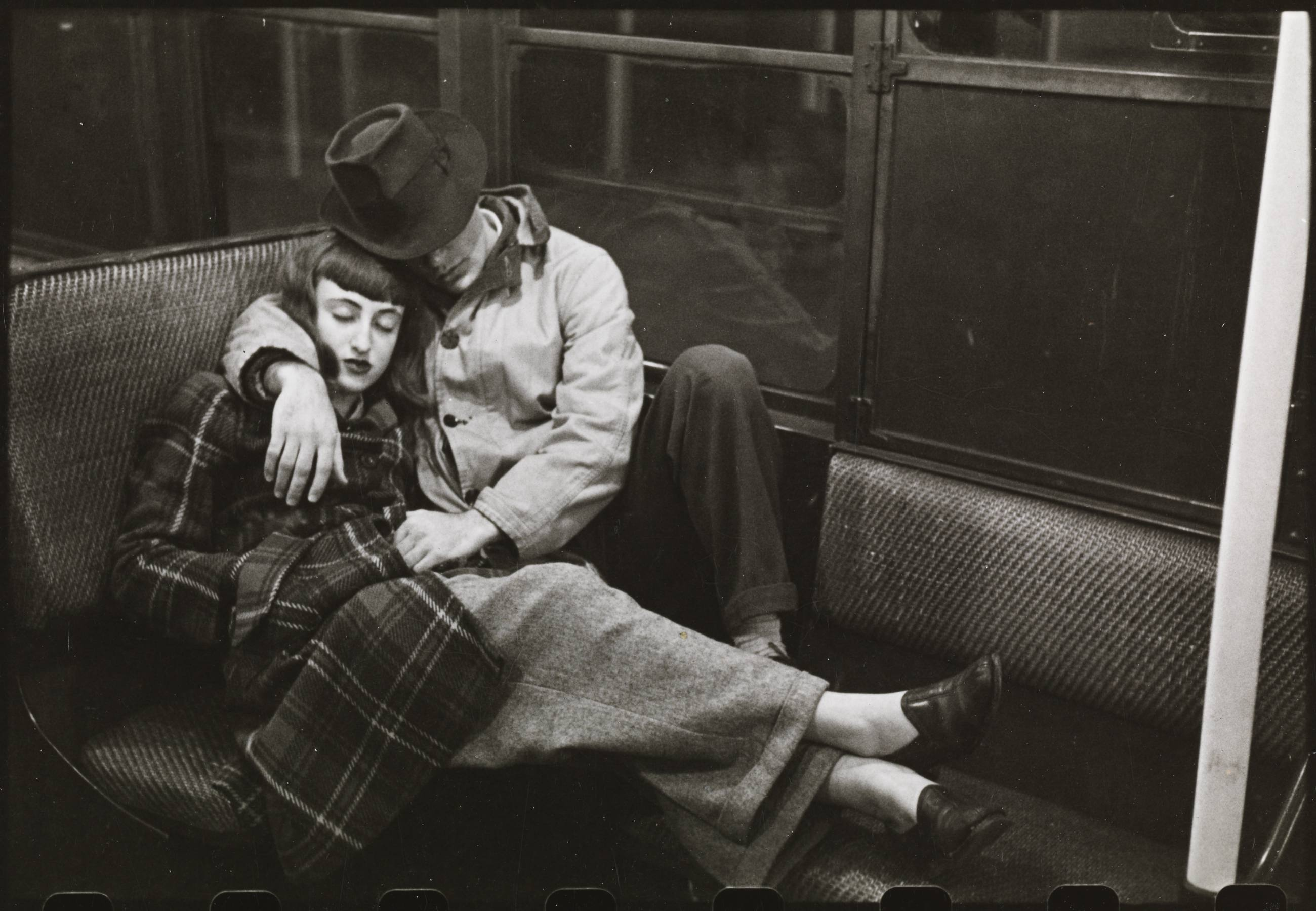 "Stanley Kubrick ""Life and Love on the New York City Subway"" (1947) at Skirball Cultural Center"