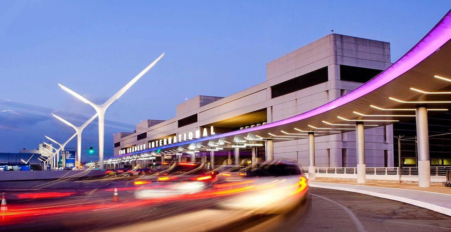 Terminal Internacional Tom Bradley en LAX