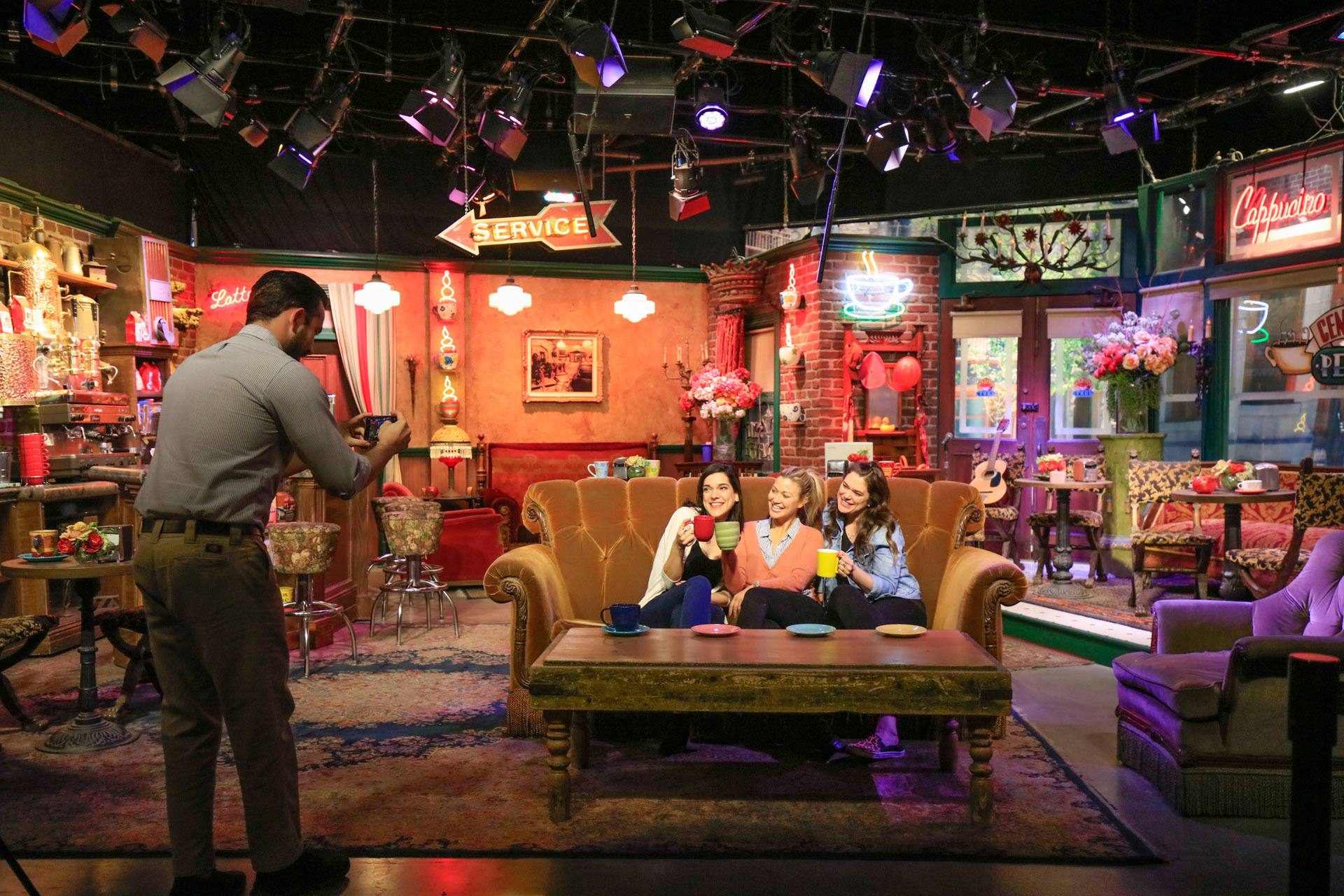 The Central Perk set from Friends at Studio 48: Script to Screen | Photo: Warner Bros. Studio Tour Hollywood