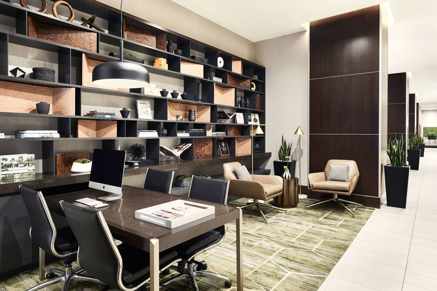 AC Library & Business Center at the AC Hotel Beverly Hills