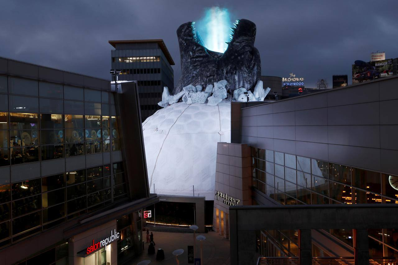 """""""Godzilla: King of the Monsters"""" takes over the Cinerama Dome at ArcLight Hollywood"""