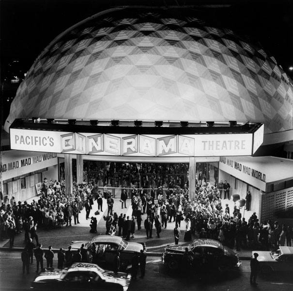 Grand opening of Pacific Theatres Cinerama Dome on Nov. 7, 1963