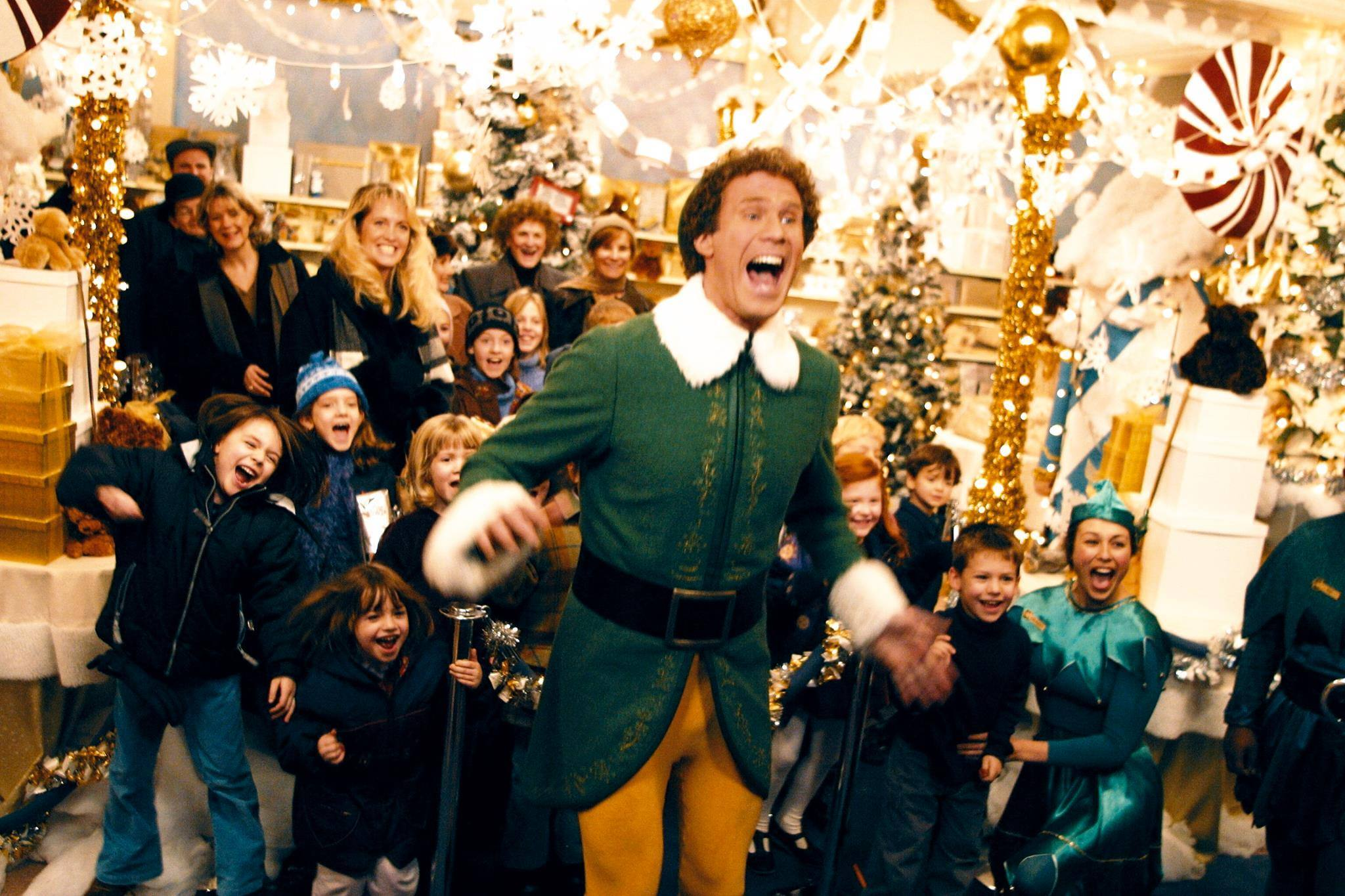 "Will Ferrell in ""Elf"" (2003)"
