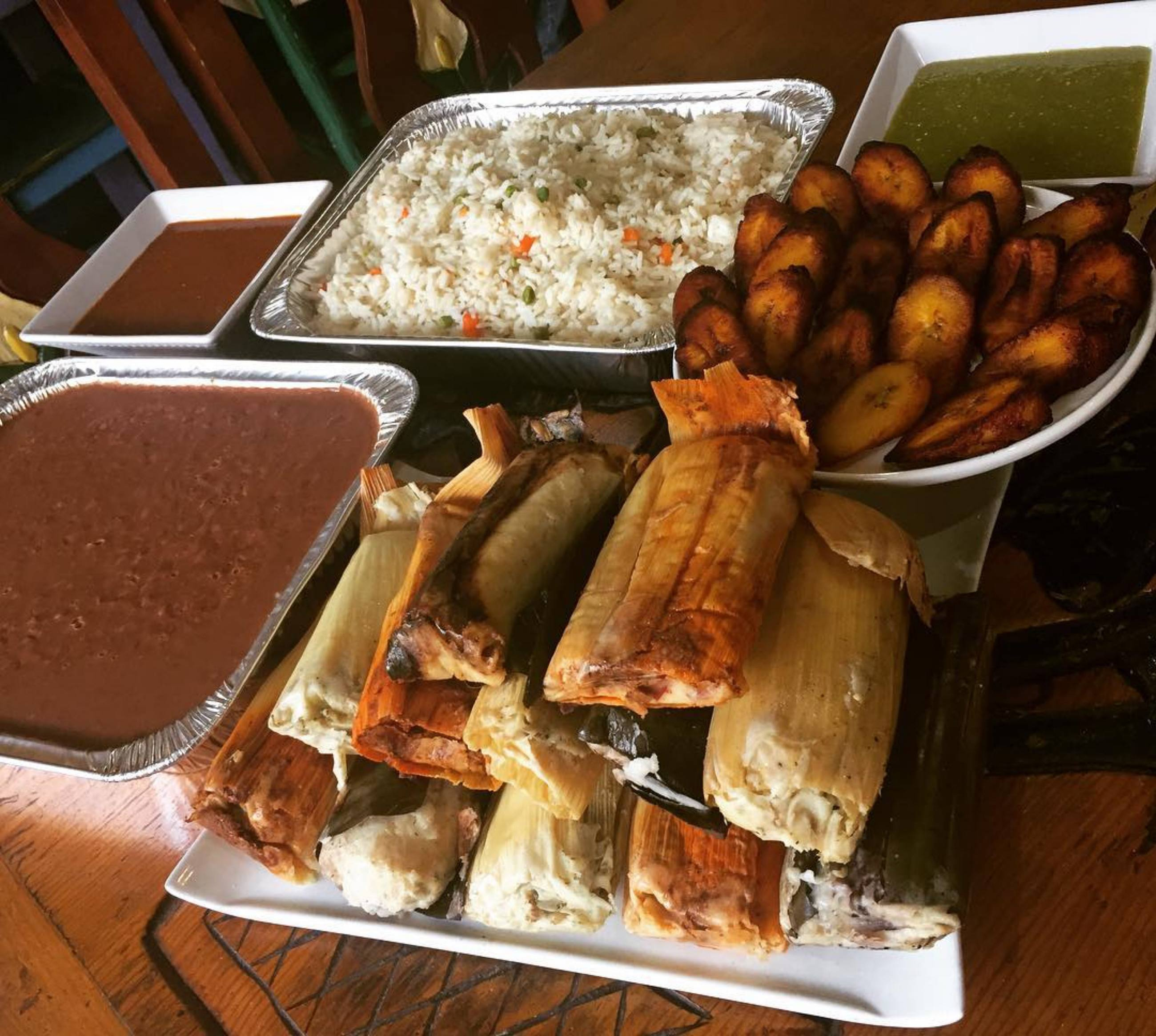 Thanksgiving Package from Mama's International Tamales