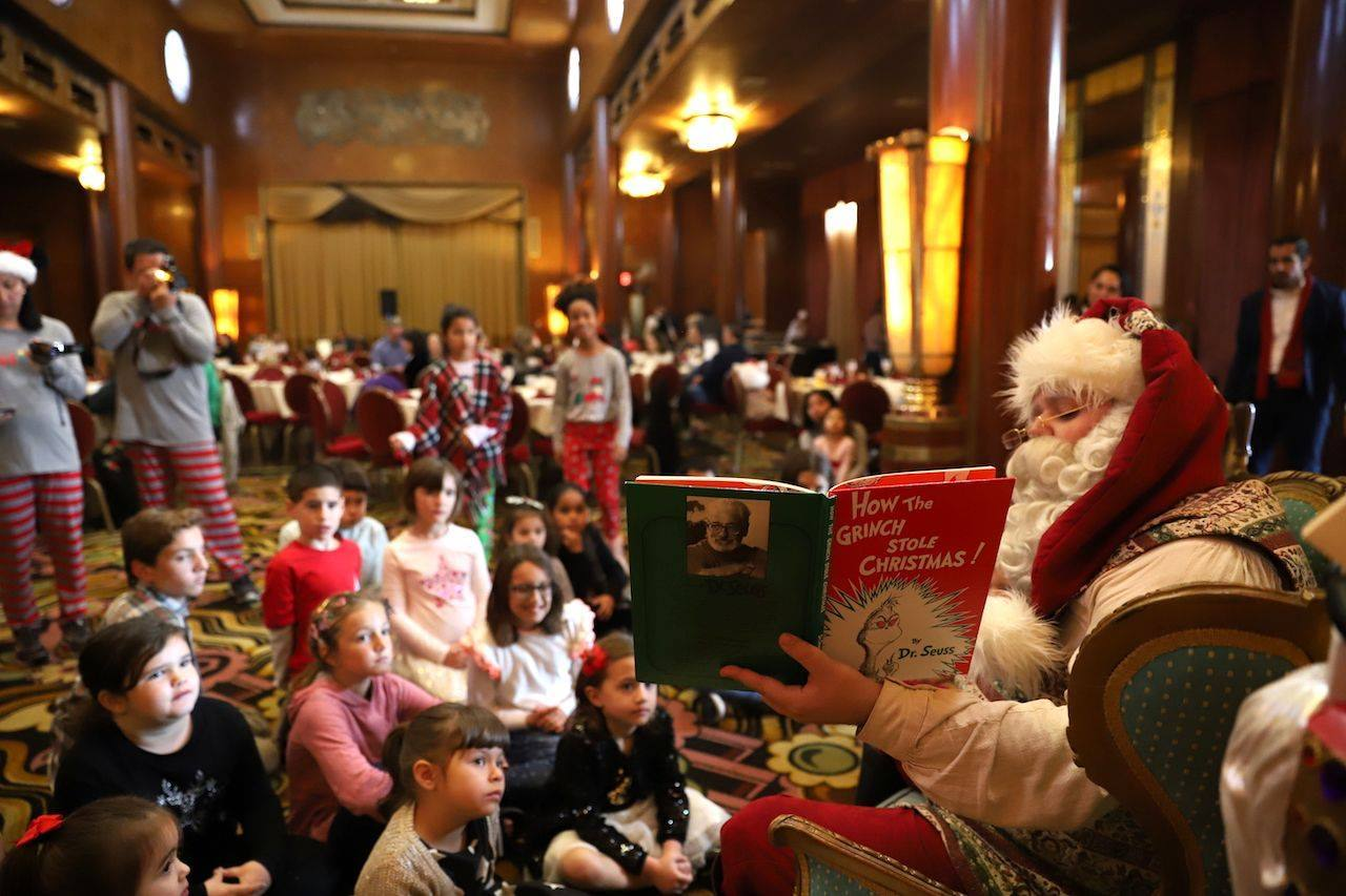 Breakfast with Santa at The Queen Mary