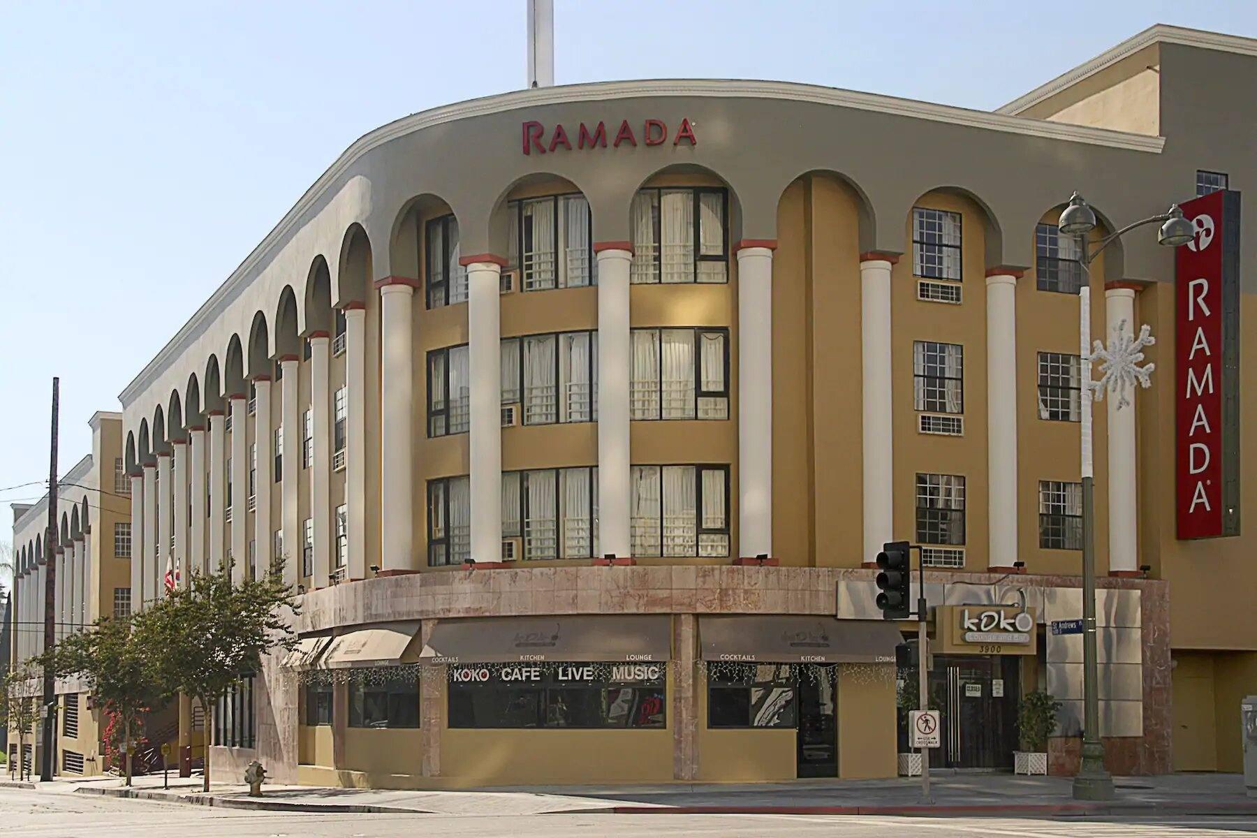 Exterior of Ramada by Wyndham Los Angeles / Koreatown West