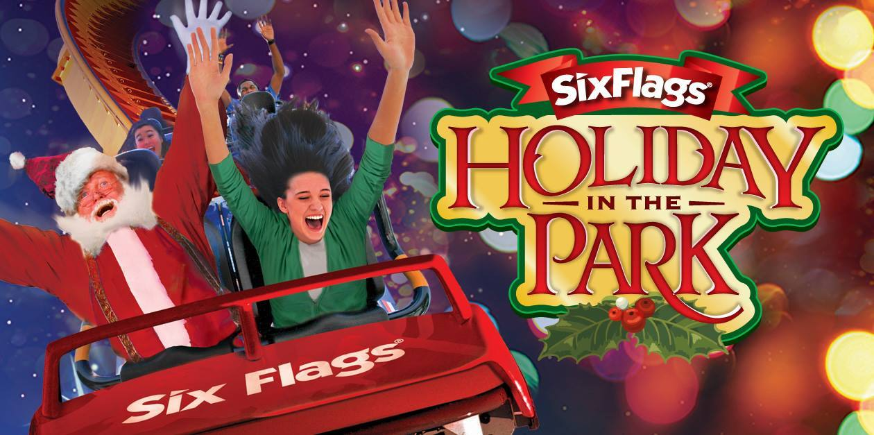 Six Flags Magic Mountain Holiday in the Park