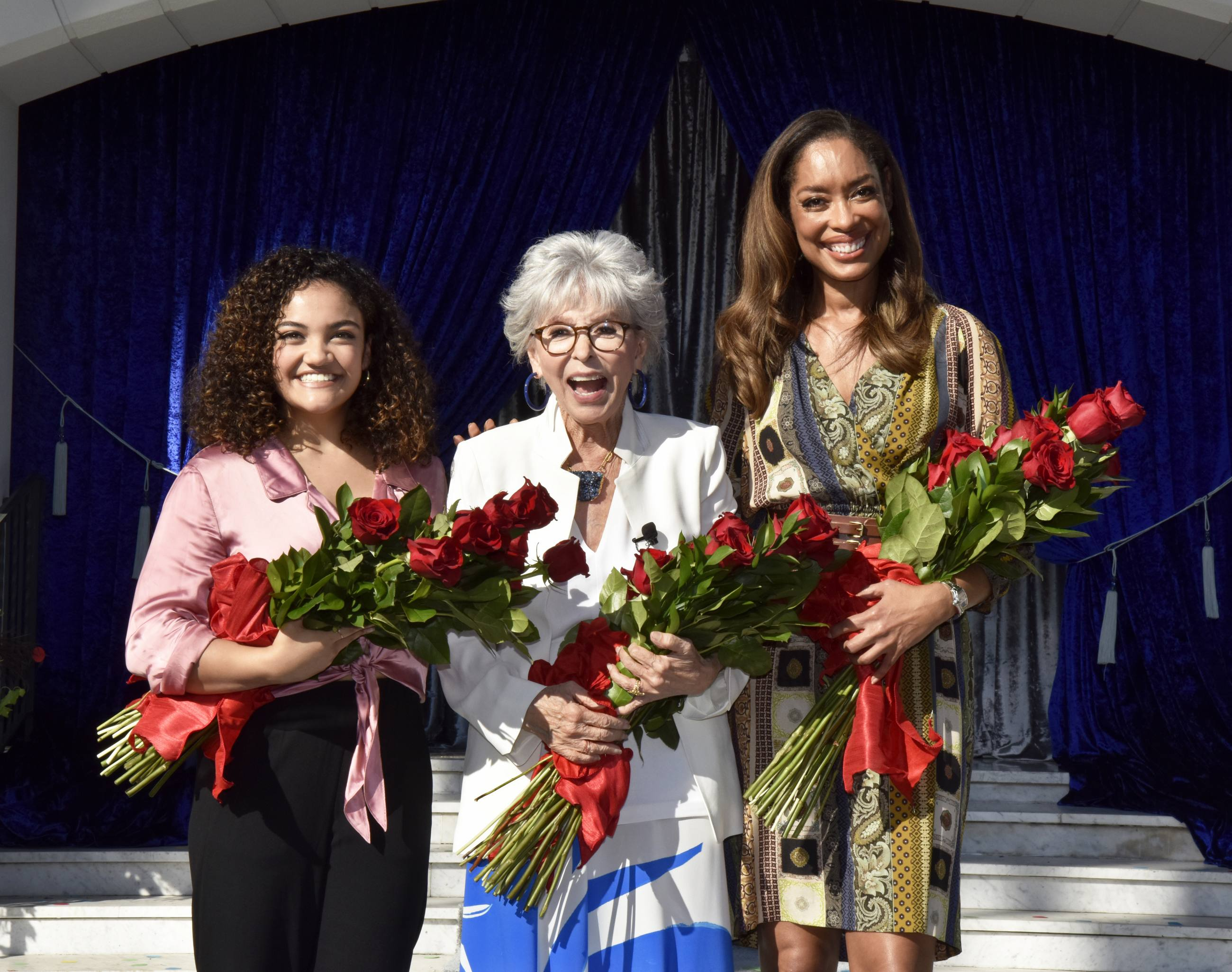 Tournament of Roses 2020 Grand Marshals Laurie Hernandez, Rita Moreno and Gina Torres
