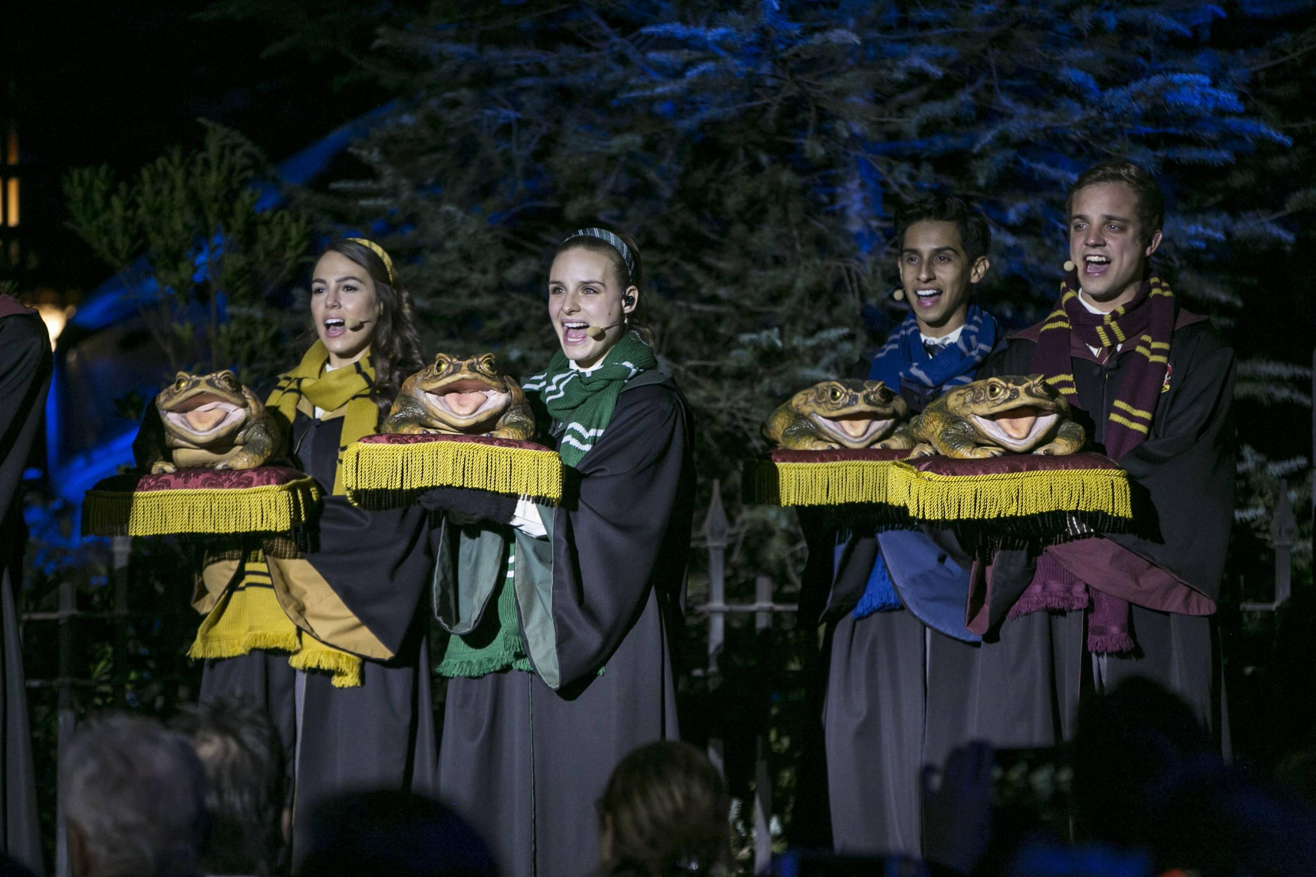 Holiday Frog Choir at Universal Studios Hollywood