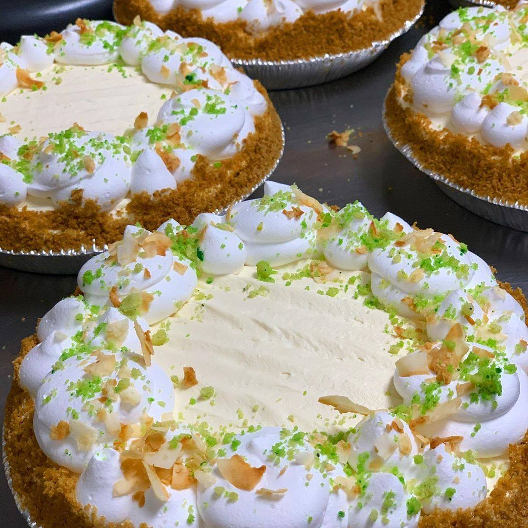 Key Lime Softserve Pie at Magpies Softserve