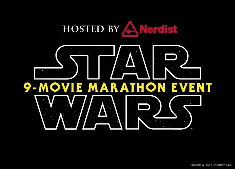 Star Wars 9 Movie Marathon hosted by Nerdist | Photo: El Capitan Theatre, Facebook