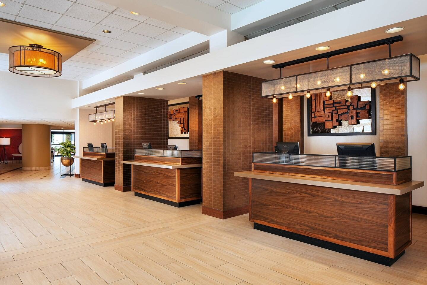 Front Desk at the Four Points by Sheraton LAX