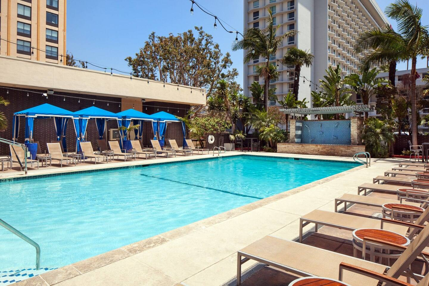 Outdoor Pool at the Four Points by Sheraton LAX